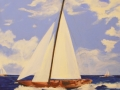 Summer Sailing - Acrylic on canvas-004