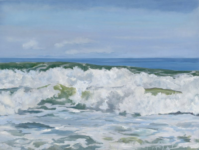 Tumbling Sea 24 x 36 oil on linen