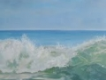 Casey Chalem Anderson Thunderous Sea  24 x 24 oil on panel