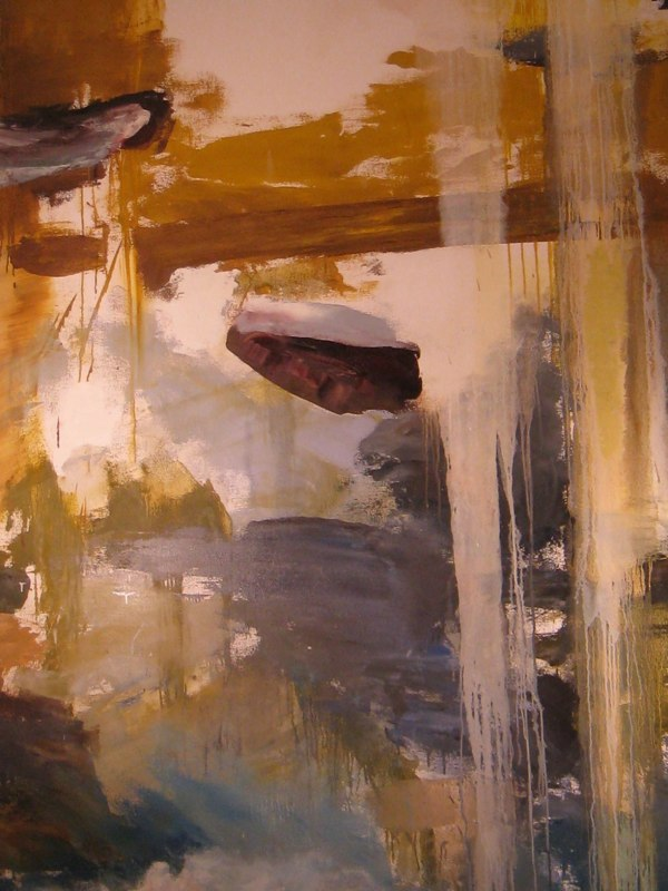 GOLDEN-LANDSCAPE-large detail,2009,oil-on-canvas,86
