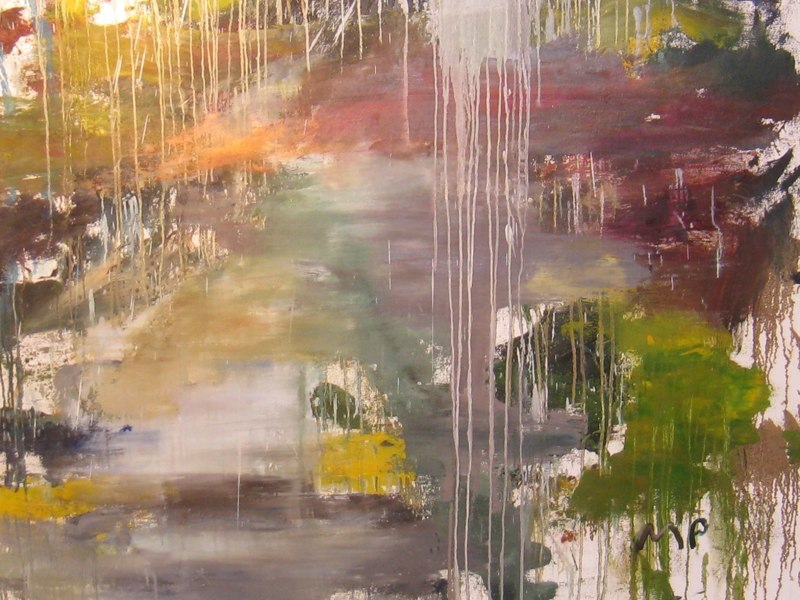 WET-LANDSCAPE-detail,2009,oil-on-canvas,86