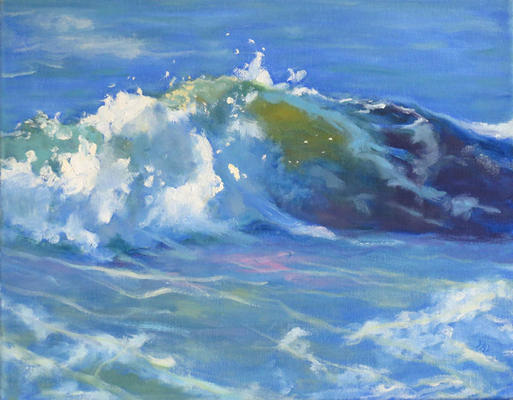 WAVE LENGTH, OIL, 12X14